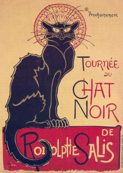 Portada de Theophile Steilen sobre gatos