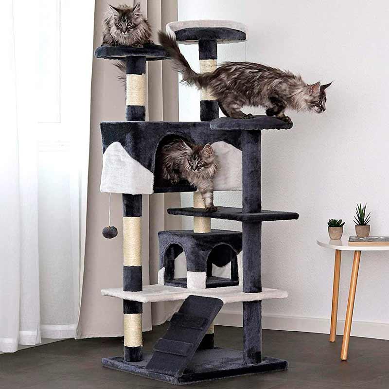 rascador para gatos grande