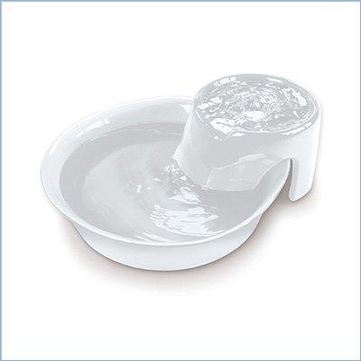 fuente grande para gatos de cerámica