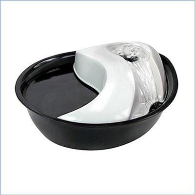 fuente de plástico para gatos