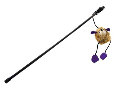 juguete de caña para gatos