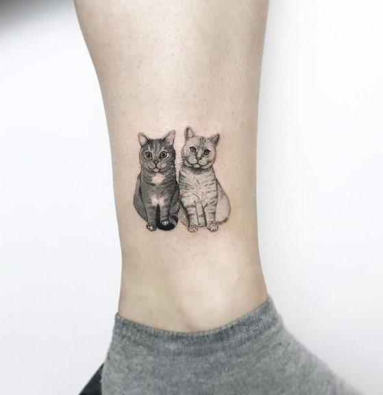 tatuaje-gatitos