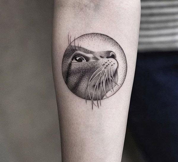 tatuaje-silueta-gato
