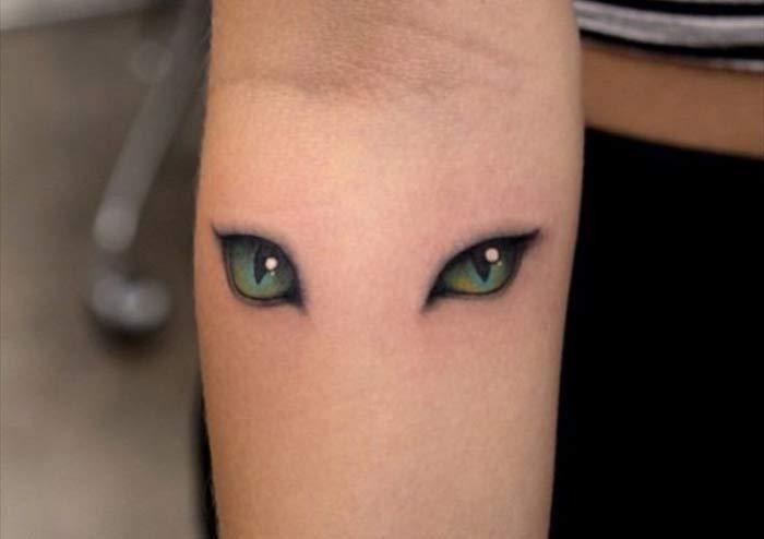 tatuaje-ojos-gatos