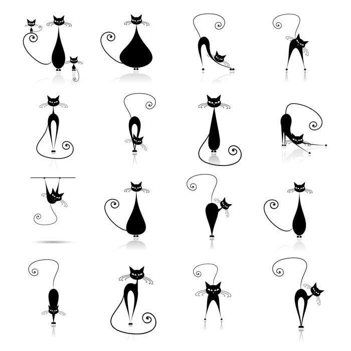tatauje-gato-negro