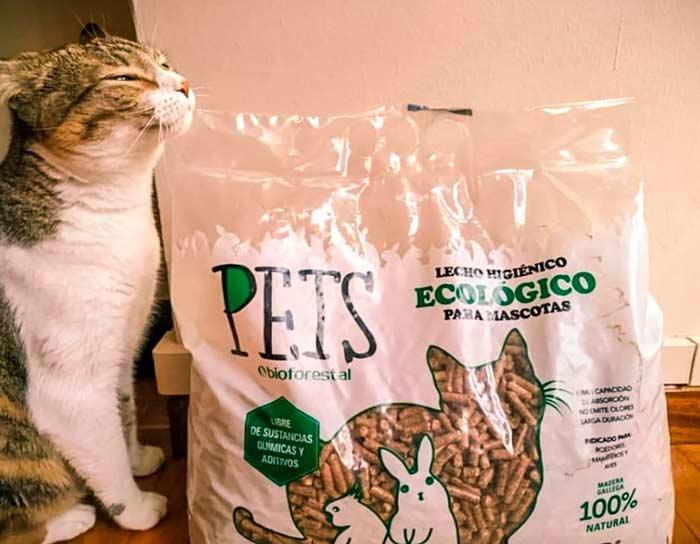 saco de pellets de PetsBioforestal